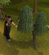 Woodcutting with the Inferno Adze