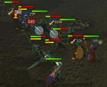 Clan fight.