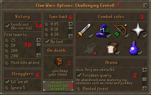 Clan War Options