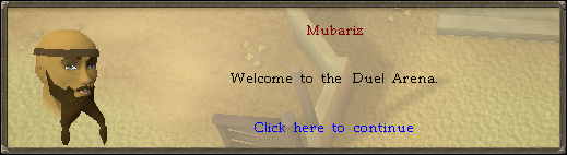 Mubariz: Welcome to the Duel Arena!