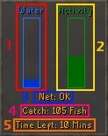 The fishing trawler interface