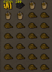 Suggested inventory for trawler fishing