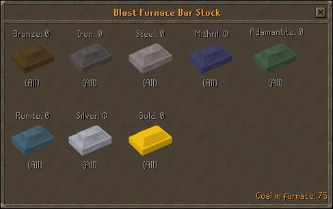 Blast Furnace Bar Stock