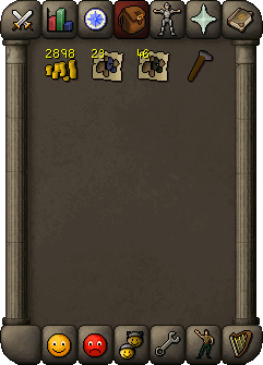 Money, noted coal and mithril, and a hammer