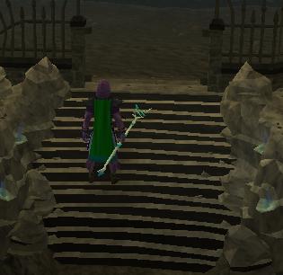 Walk through Mystic Portal