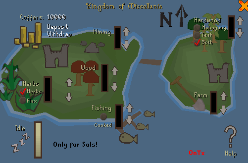 A map of your kingdom