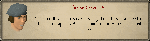 Junior Cadet Mal: Let's see if we can solve this together.