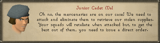 Junior Cadet Mal: Oh no, the mercenaries are on our case!