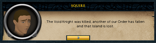 The Void Knight was killed.