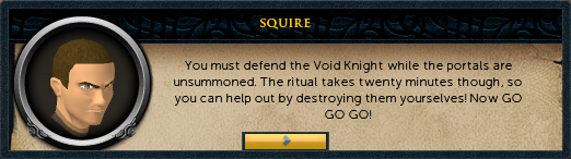 Defend the Void Knight!