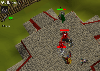 Defending with Dharok's