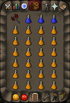 Recommended inventory