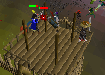 Defending on a Tower