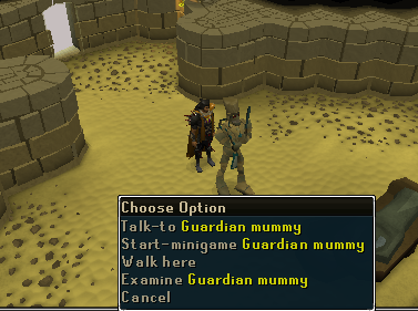 It's the guardian mummy!