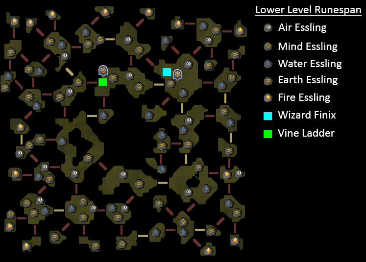 Lower Level Runespan