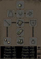 Snakeskin armor equipment