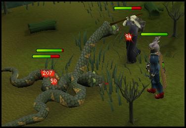 Swamp snakes