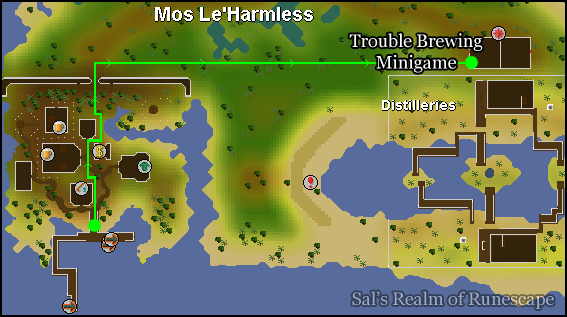 Mod Le'Harmess to the mini-game