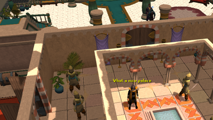 Ground floor of the Al Kharid castle/palace