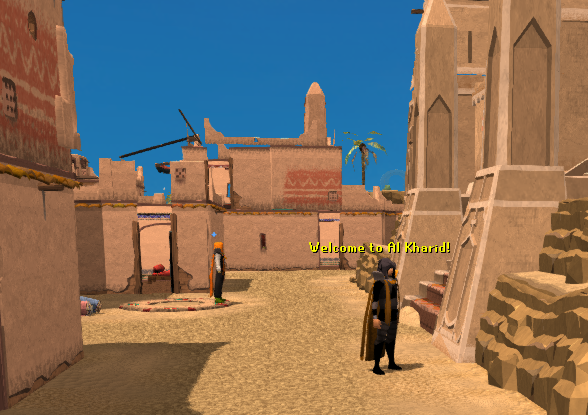 Welcome to Al Kharid!