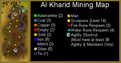 A map of the al kharid mine