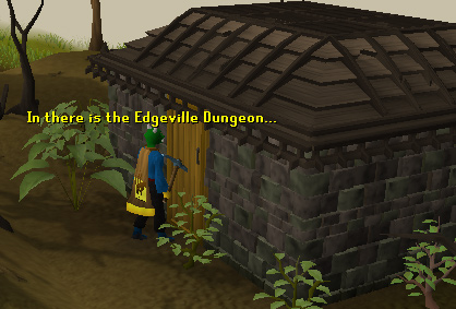 Entrance to the Edgeville Dungeon