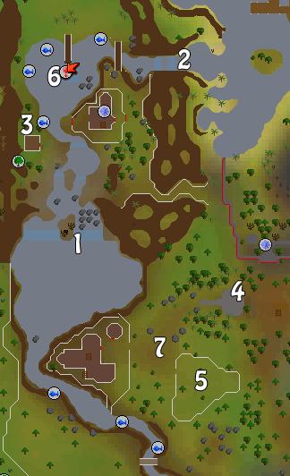 Map of Baxtorian Falls