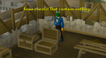 Gold trimmed chests