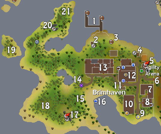 Map of Brimhaven
