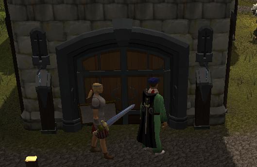Heroes' Guild entrance