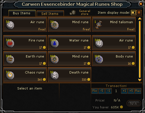 Ye Olde Magical Rune Shoppe