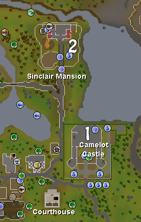 Map of Camelot