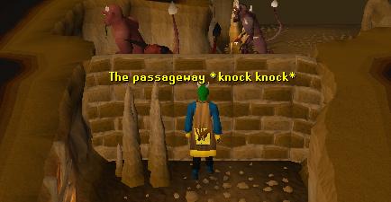 A secret passage!