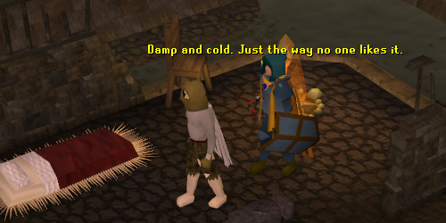The entrance to the Draynor Dungeon