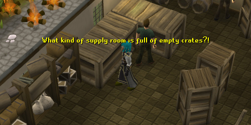 The Edgeville supply room