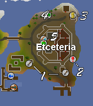 A map of the city of Etceteria