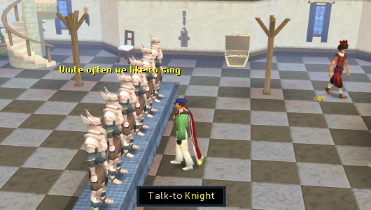 The Falador Party Room