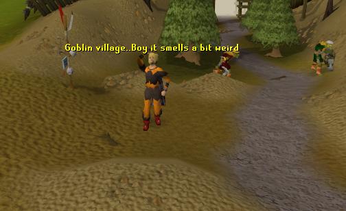 The entrance to the Goblin Village