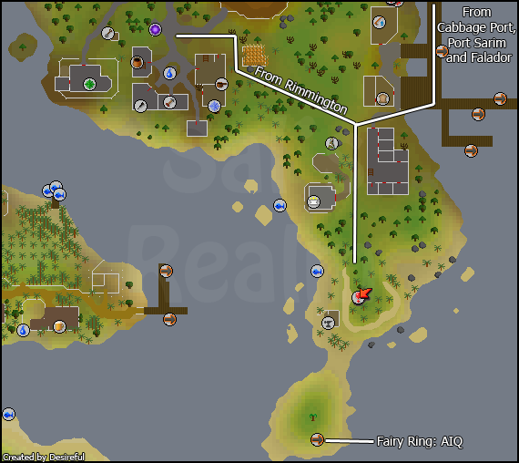 Area: Mudskipper Point | Sal\'s Realm of RuneScape