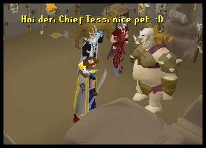 Chief Tess' house