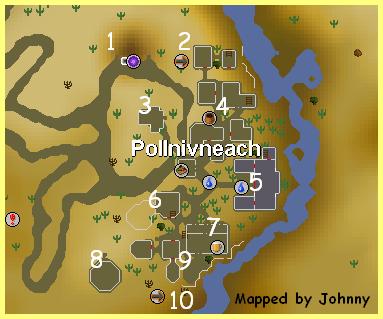 A map of Pollnivneach