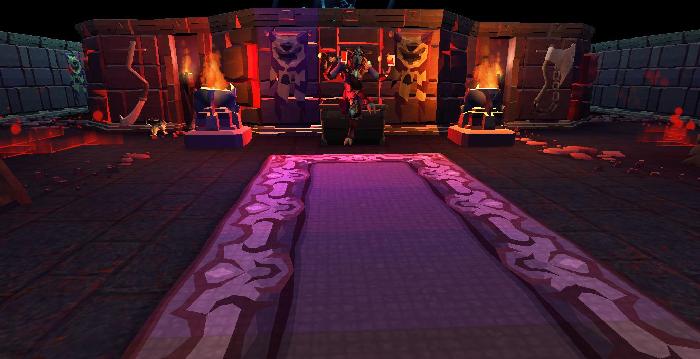 Advanced resource dungeon