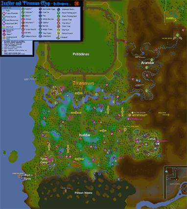 Map of Isafdar