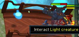 Light creature
