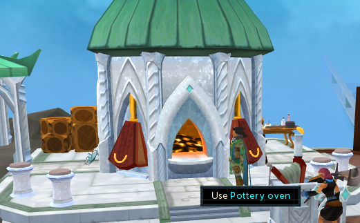 Pottery oven