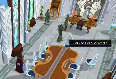 Talk to Lord Iorwerth