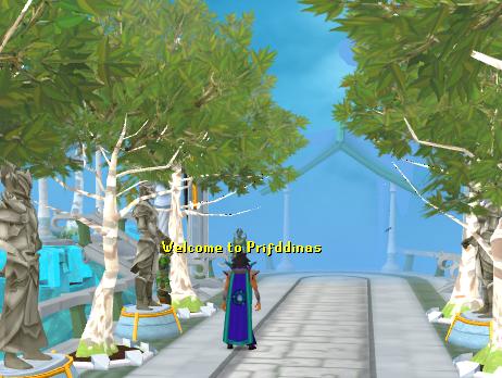 Welcome to Prifddinas