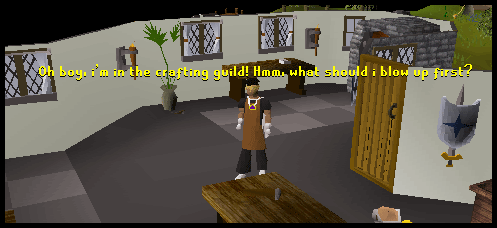 The crafting guild