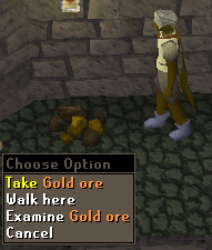 Gold ore respawn