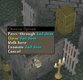 Close Jail Door